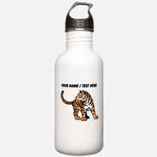 Custom Bengal Tiger Cub Water Bottle