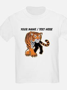 Custom Bengal Tiger Mascot T-Shirt