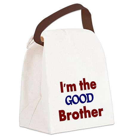 Im the Good Brother 2 Canvas Lunch Bag