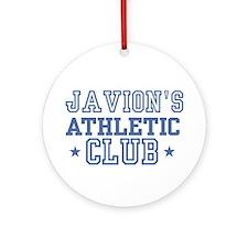 Javion Ornament (Round)