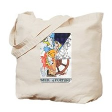 Wheel of Fortune Tarot Tote Bag