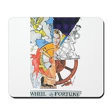 Wheel of Fortune Tarot Mousepad