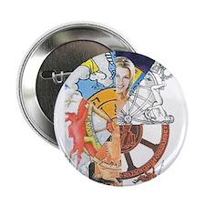 "Wheel of Fortune Tarot 2.25"" Button"