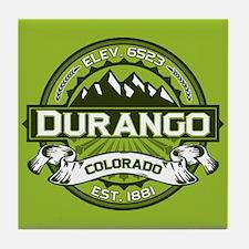 Durango Green Tile Coaster