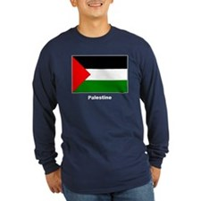 Palestine Palestinian Flag (Front) T
