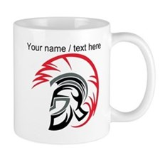 Custom Roman Warrior Helmet Mug