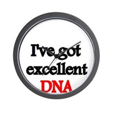 Ive got excellent DNA Wall Clock