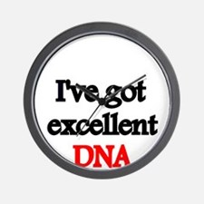 Ive got excellent DNA Wall Clock