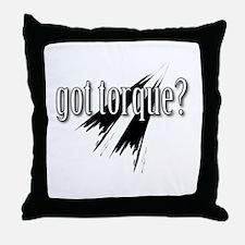 got torque Throw Pillow