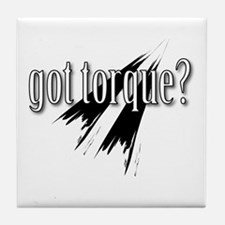 got torque Tile Coaster