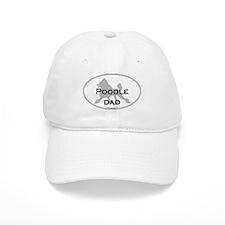 Poodle DAD Baseball Cap