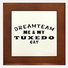 Tuxedo Cat Designs Framed Tile