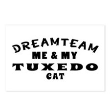 Tuxedo Cat Designs Postcards (Package of 8)