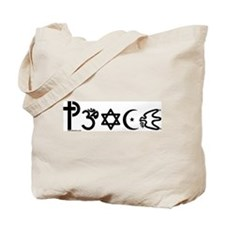 Peace-OM Tote Bag