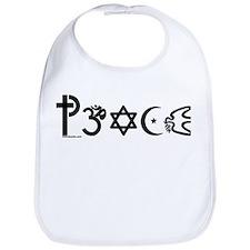 Peace-OM Bib