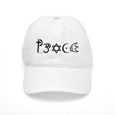 Peace-OM Baseball Baseball Cap