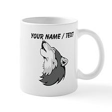 Custom Howling Wolf Mug