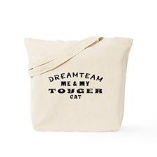 Toyger Cat Designs Tote Bag