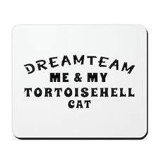Tortoisehell Cat Designs Mousepad