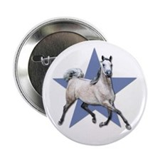 "Arabian Horse 2.25"" Button"