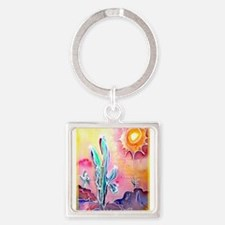 Desert, bright, southwest art! Keychains