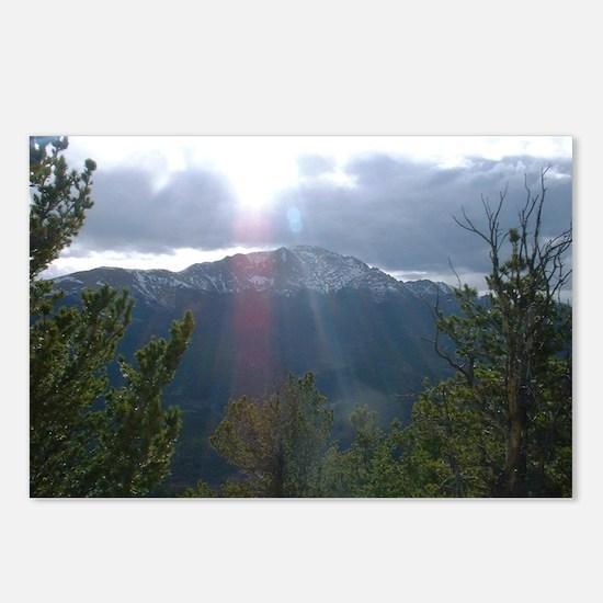 Funny Pikes peak Postcards (Package of 8)