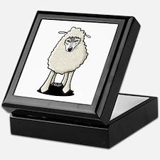 Wolf In Sheep's Clothing Keepsake Box