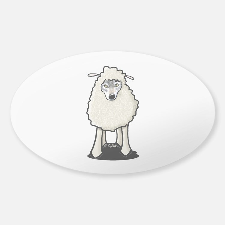Wolf In Sheep's Clothing Decal