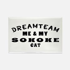 Sokoke Cat Designs Rectangle Magnet