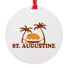 loSt. Augustine - Palm Trees Design. Ornament