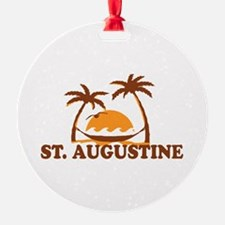 loSt. Augustine - Palm Trees Design. Ornament