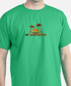 loSt. Augustine - Palm Trees Design. T-Shirt