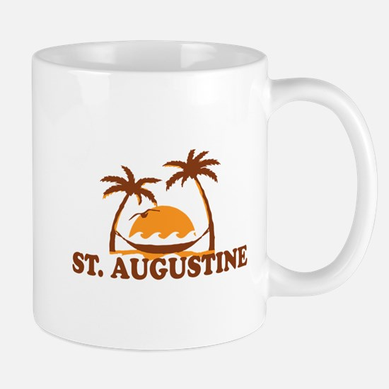loSt. Augustine - Palm Trees Design. Mug