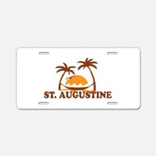 loSt. Augustine - Palm Trees Design. Aluminum Lice