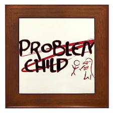 Problem Child Framed Tile
