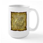 Celtic Letter Z Large Mug