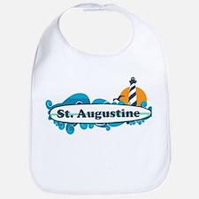 St. Augustine - Palm Surf Design. Bib