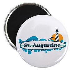 St. Augustine - Palm Surf Design. Magnet