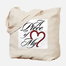 A Piece of My Heart Tote Bag