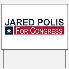 Elect Jared Polis Yard Sign