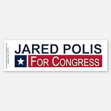 Elect Jared Polis Bumper Bumper Sticker