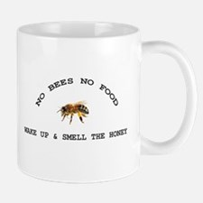 No Bees No Food Mug