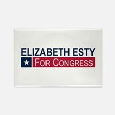 Elect Elizabeth Esty Rectangle Magnet