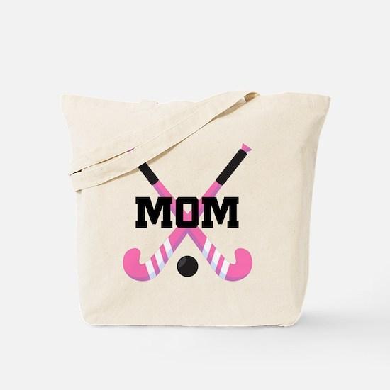 Field Hockey Mom Tote Bag
