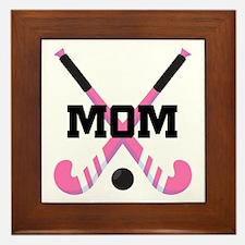 Field Hockey Mom Framed Tile