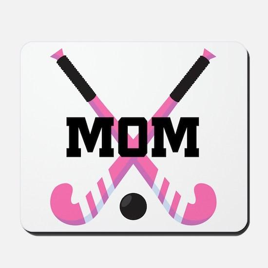 Field Hockey Mom Mousepad