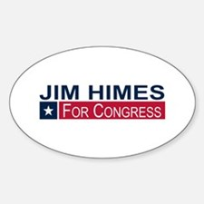 Elect Jim Himes Sticker (Oval)