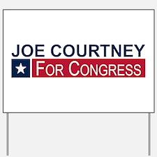 Elect Joe Courtney Yard Sign