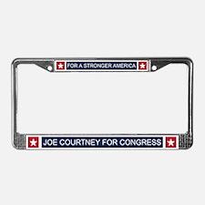 Elect Joe Courtney License Plate Frame