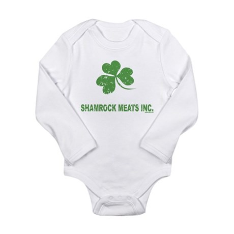 Shamrock Meats Long Sleeve Infant Bodysuit